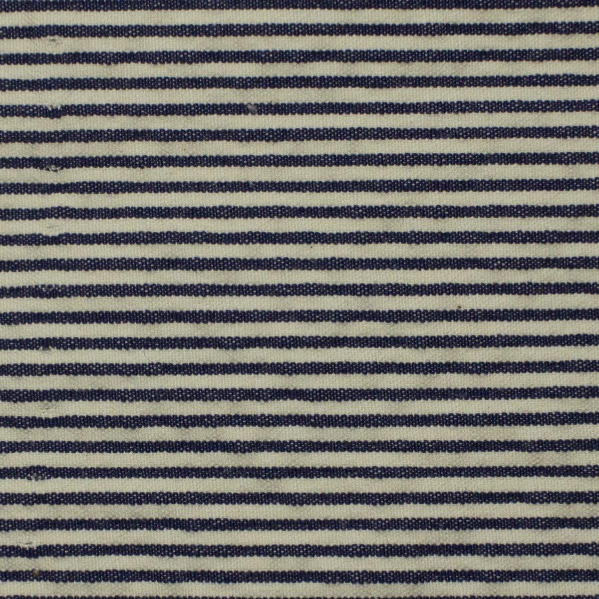 Righe bianco/blu navy